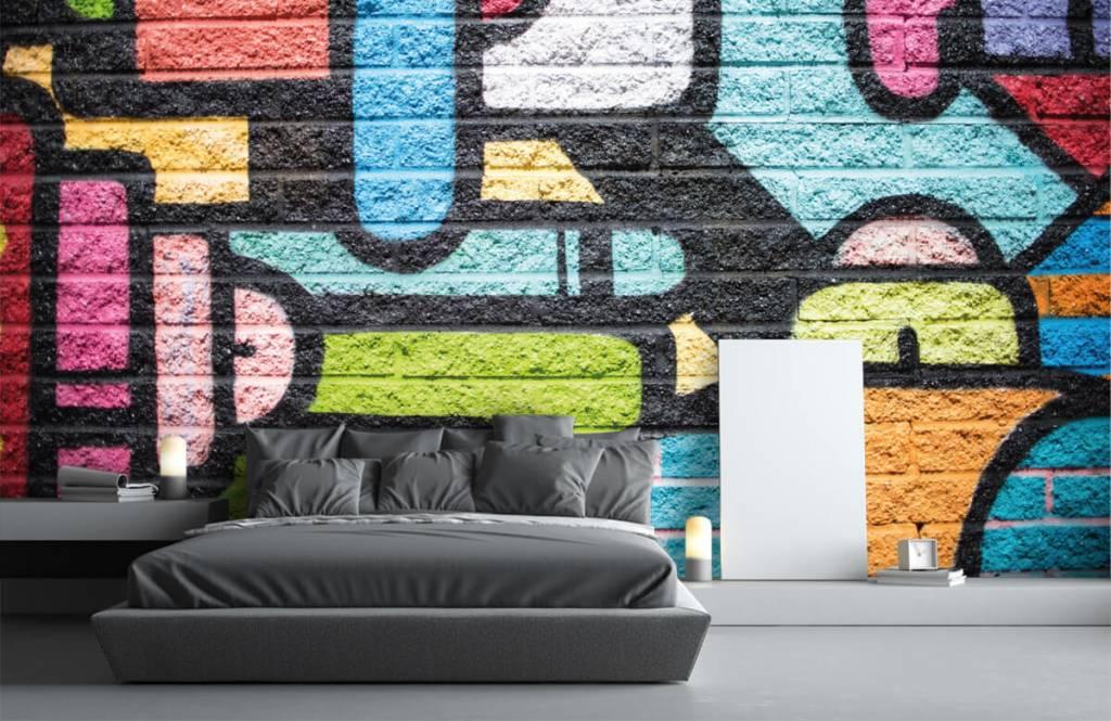 Graffiti Graffiti vägg 3