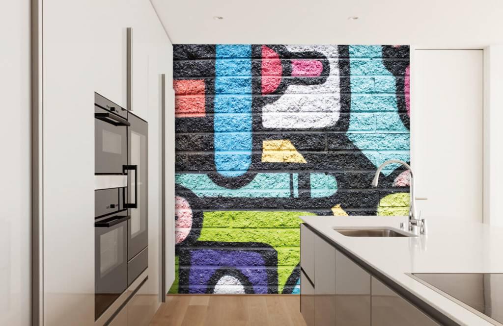 Graffiti Graffiti vägg 4