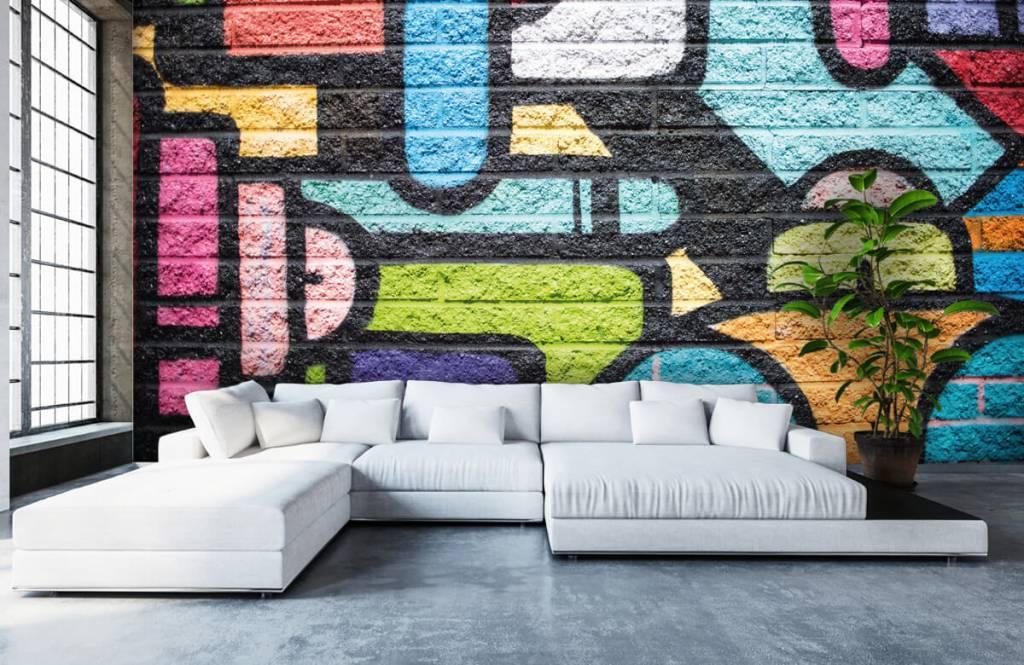 Graffiti Graffiti vägg 6