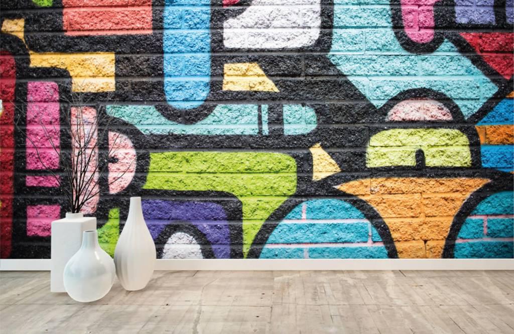 Graffiti Graffiti vägg 8