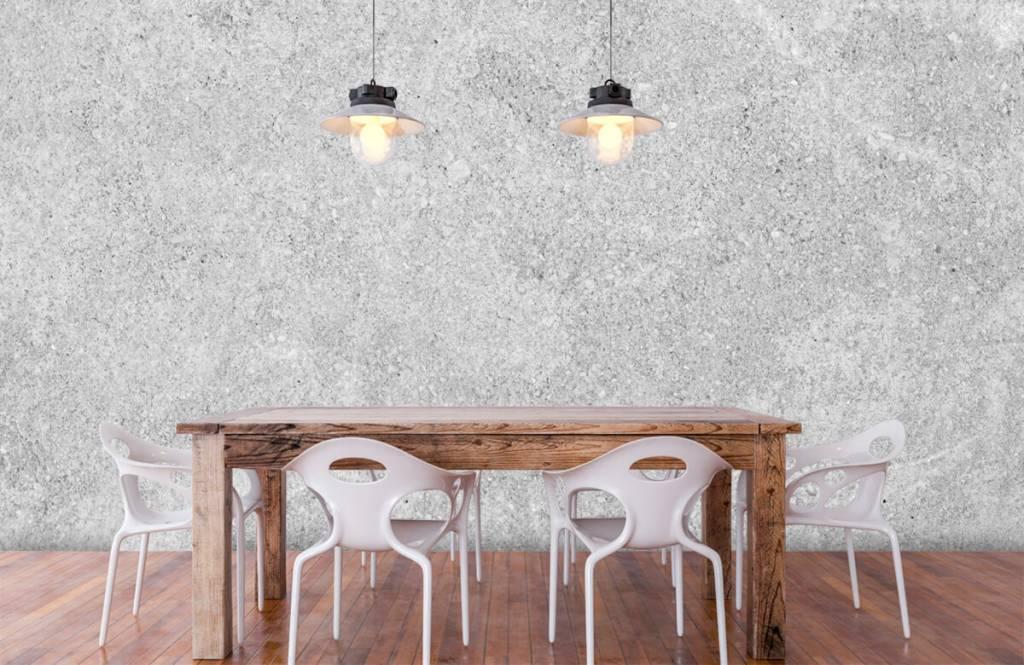 Concrete look tapet Grå betongstruktur 5