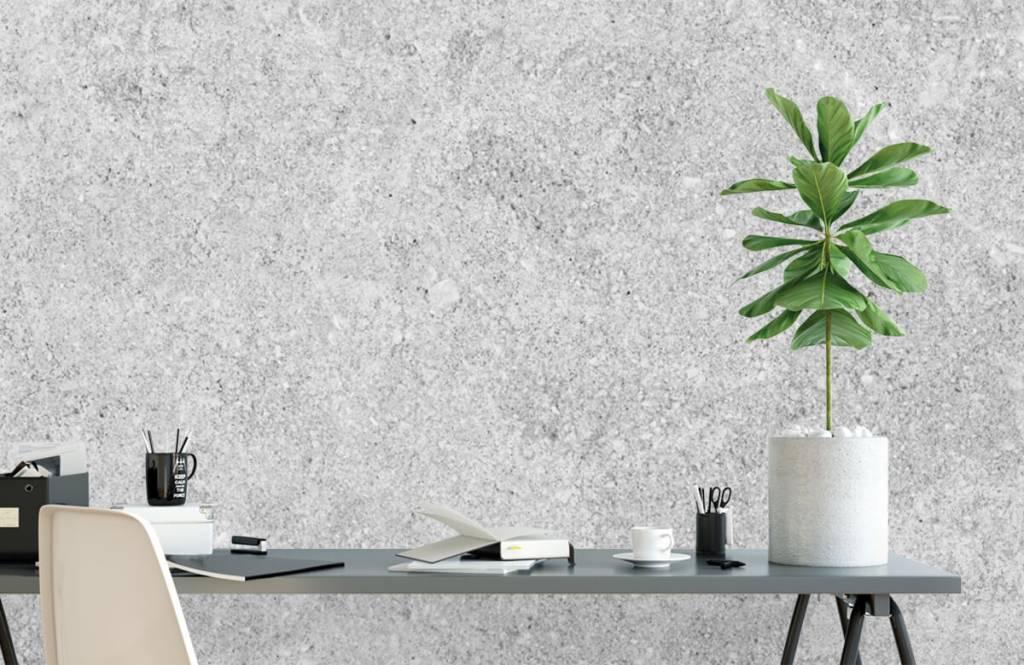 Concrete look tapet Grå betongstruktur 6