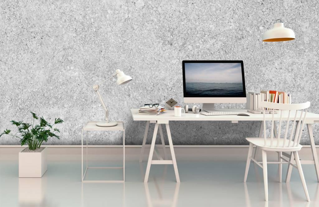 Concrete look tapet Grå betongstruktur 7