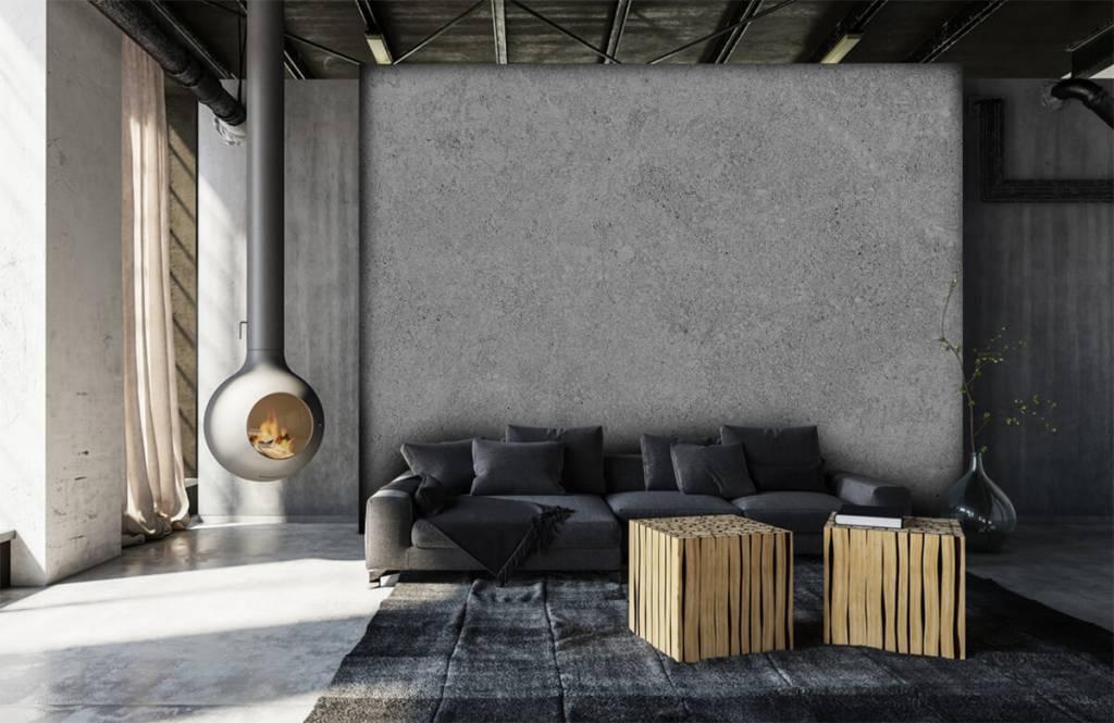 Concrete look tapet Grå betongstruktur 8