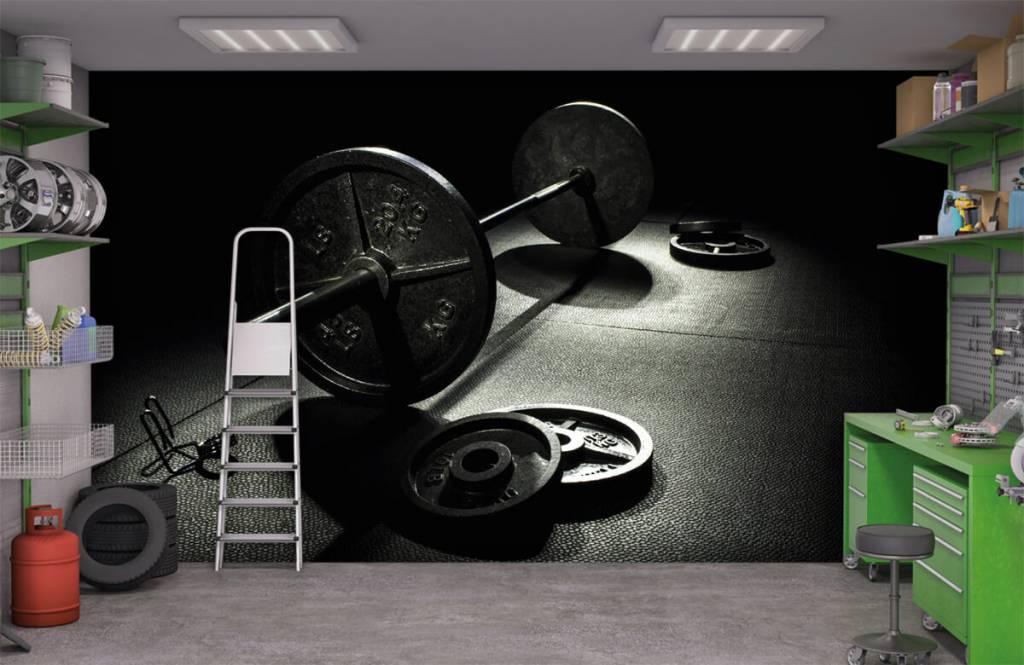 Fitness Vikt hantel 4