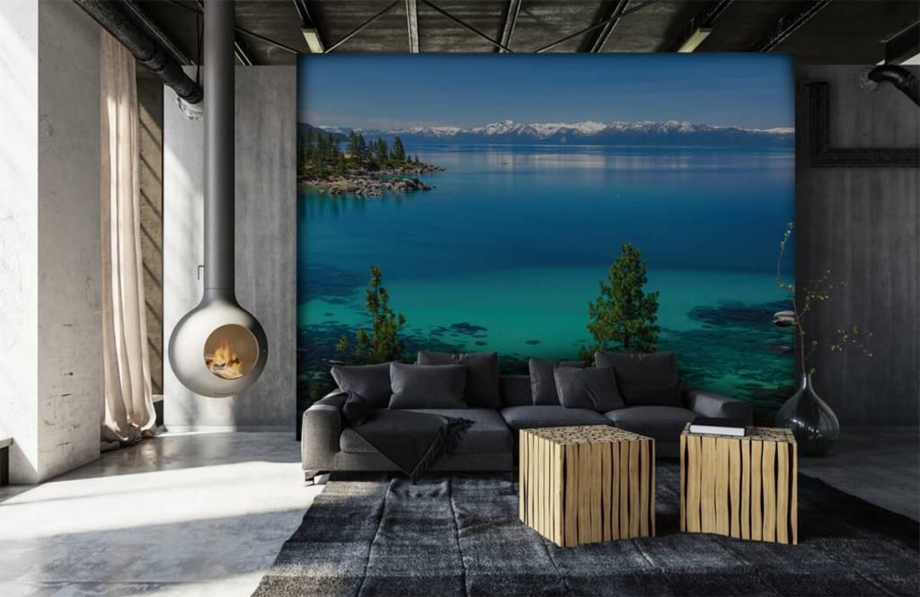 Sjöar och vatten Ljusare sjö 6