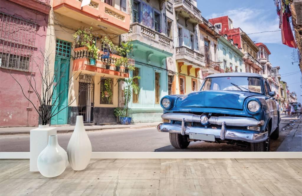 Transport Klassisk bil på Kuba 8