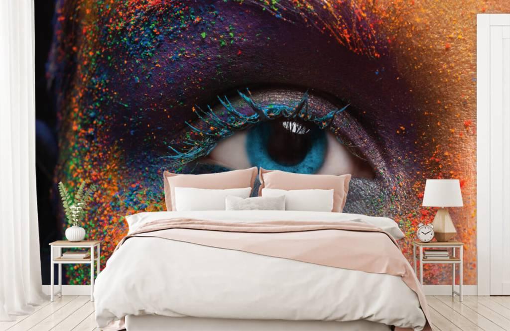 Ansikten och porträtt Färgglada ögon 2