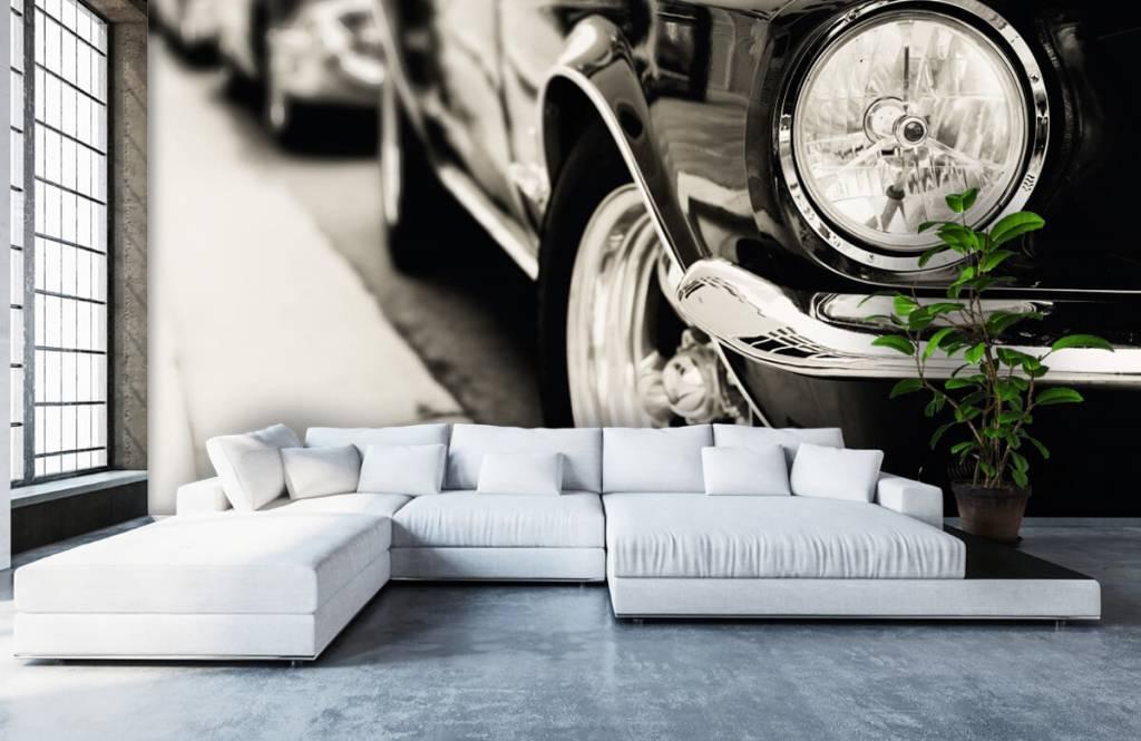 Transport Kör klassiska bilar 5