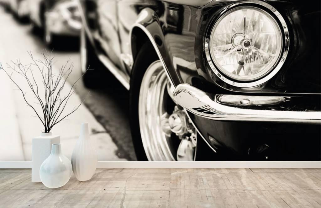 Transport Kör klassiska bilar 8