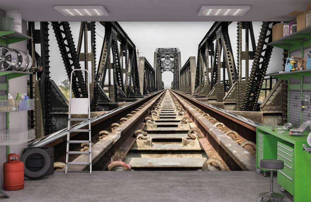 Element Metall järnvägsbro 1