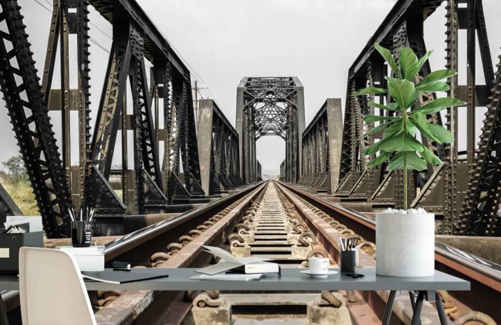Element Metall järnvägsbro 2