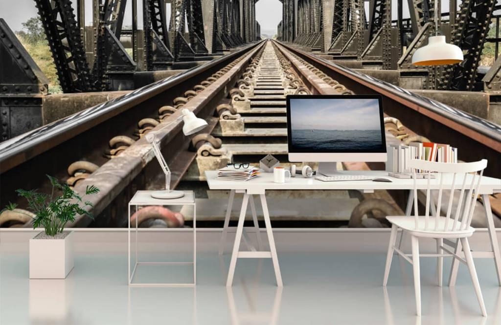 Element Metall järnvägsbro 3