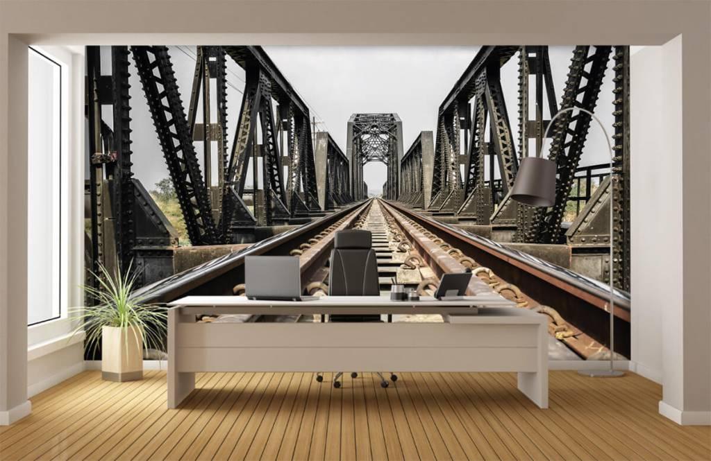Element Metall järnvägsbro 4