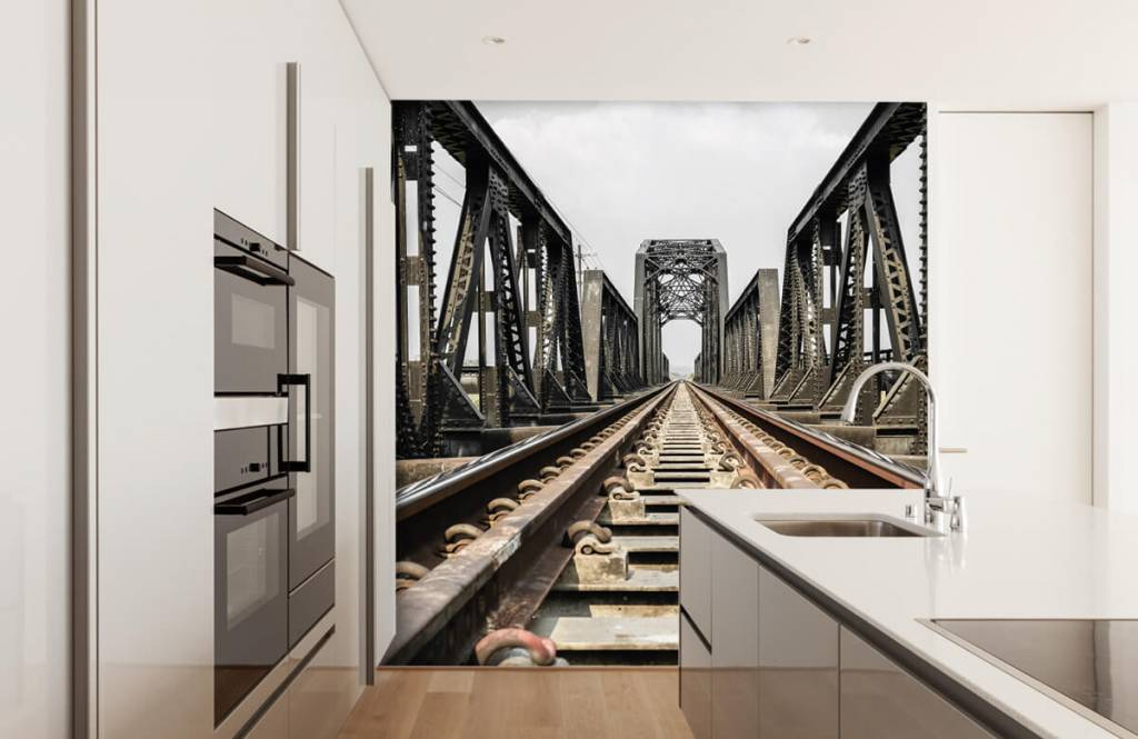 Element Metall järnvägsbro 5