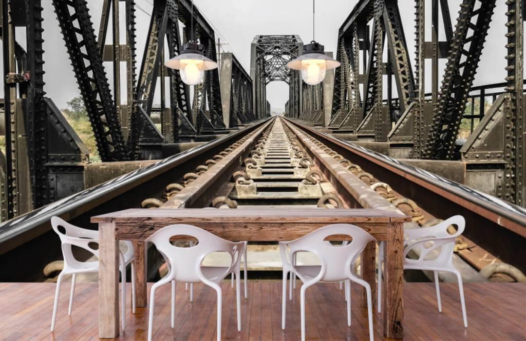 Element Metall järnvägsbro 7