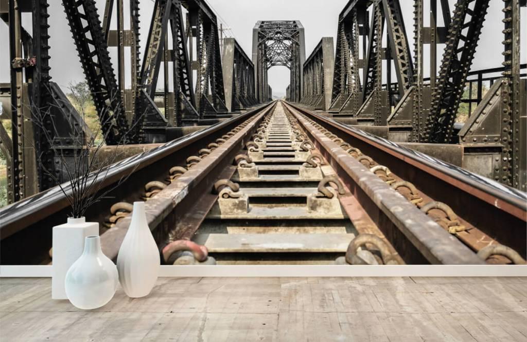 Element Metall järnvägsbro 8