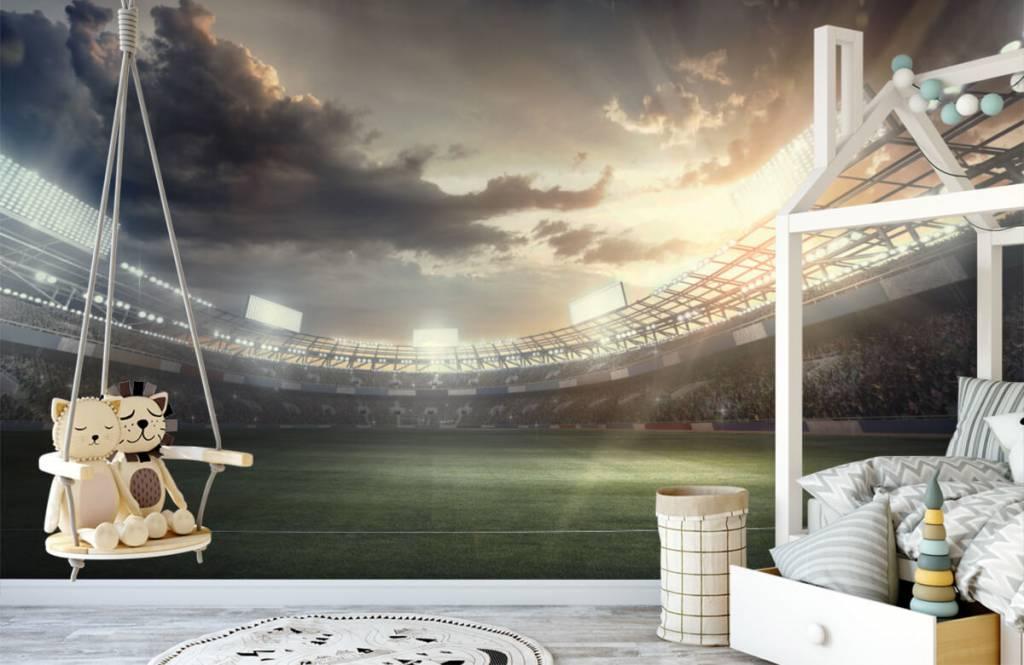 Stadion Stadion vid solnedgången 3