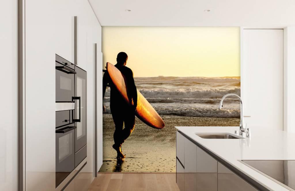 Stränder Surfare 1
