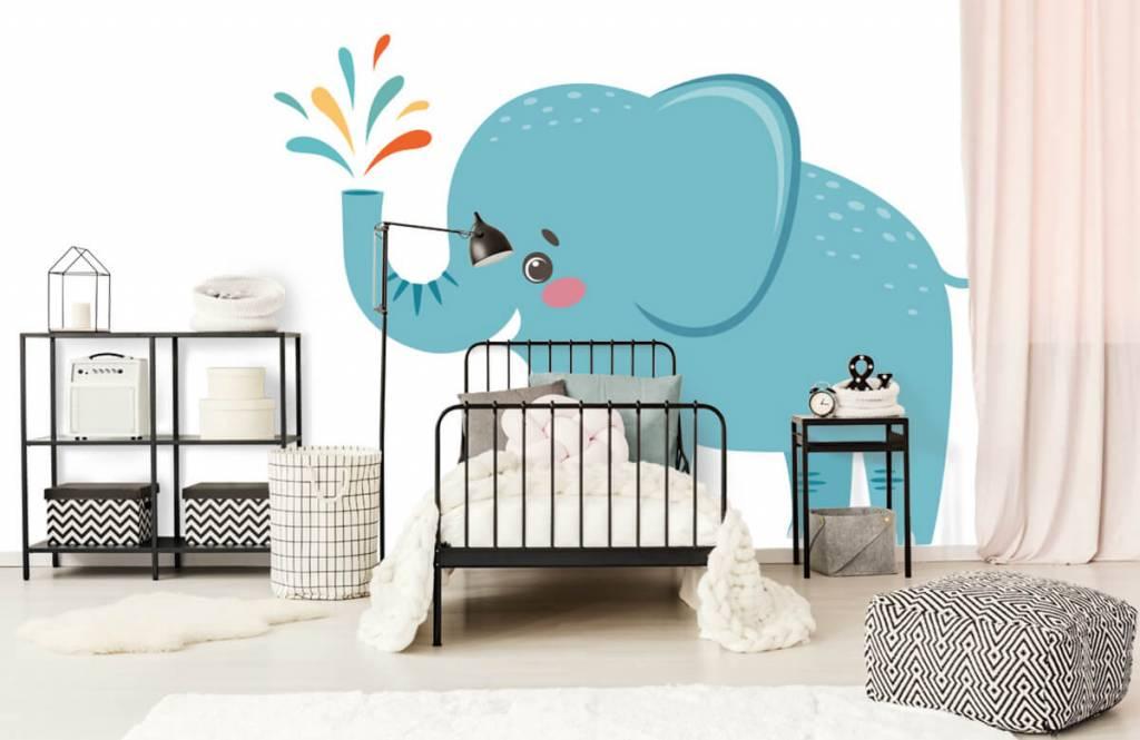 Elefanter Glad elefant 1