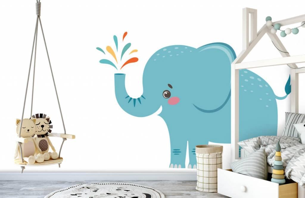 Elefanter Glad elefant 3