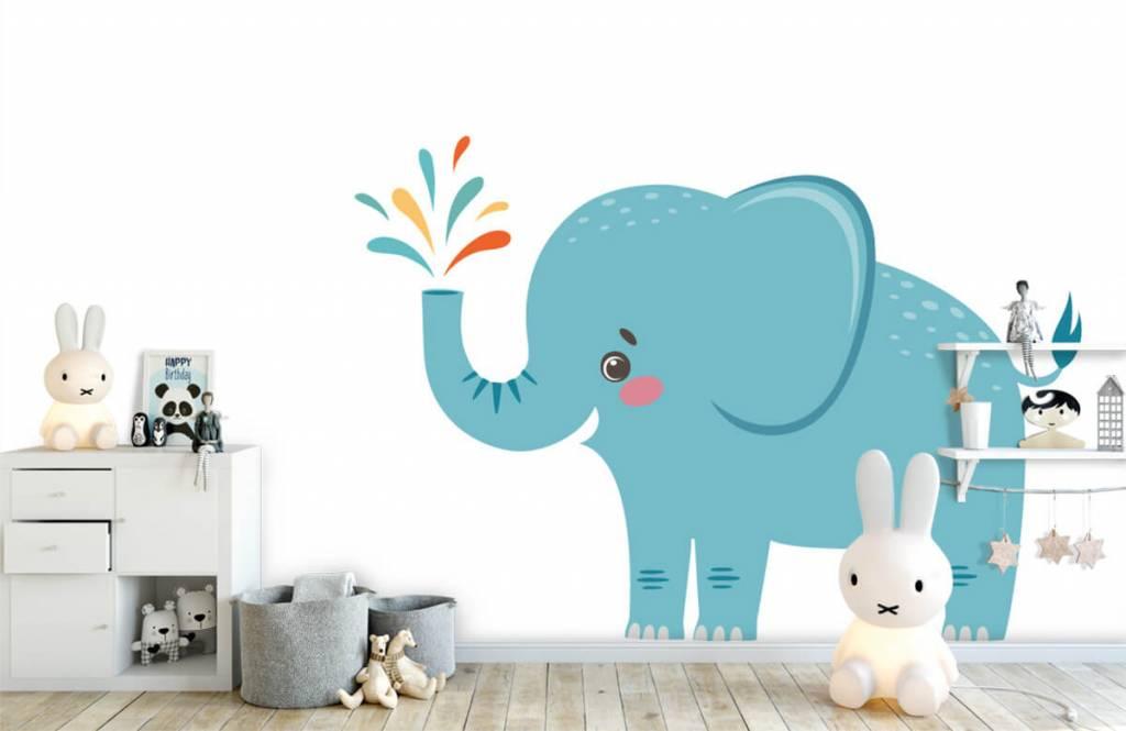 Elefanter Glad elefant 4
