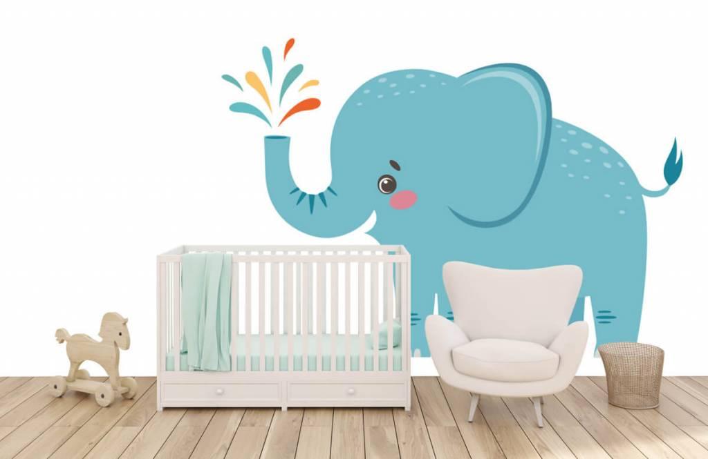 Elefanter Glad elefant 5