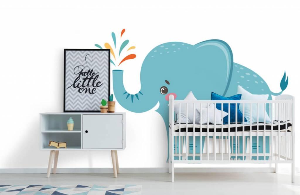 Elefanter Glad elefant 6