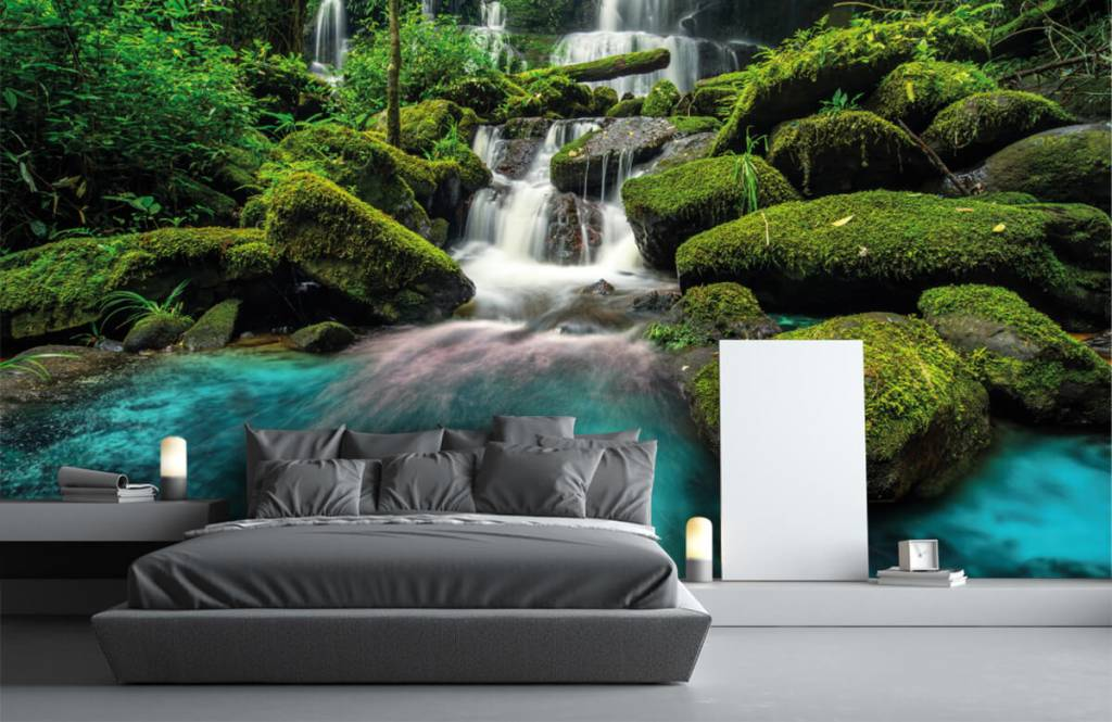 Vattenfall Vattenfall i en djungel 1