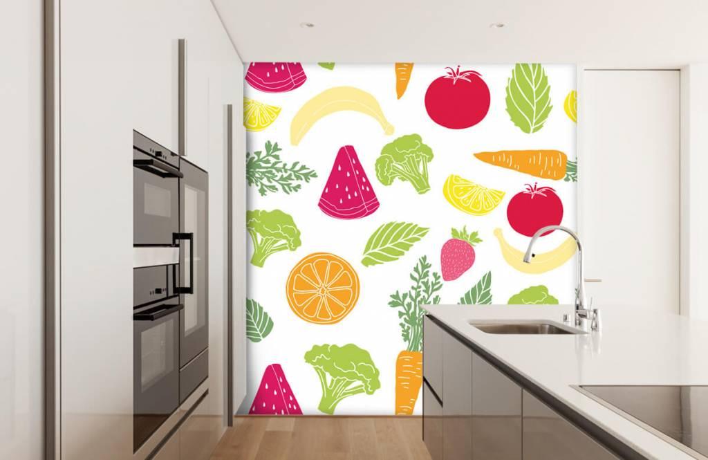 Övriga Getekend groente en fruit 1