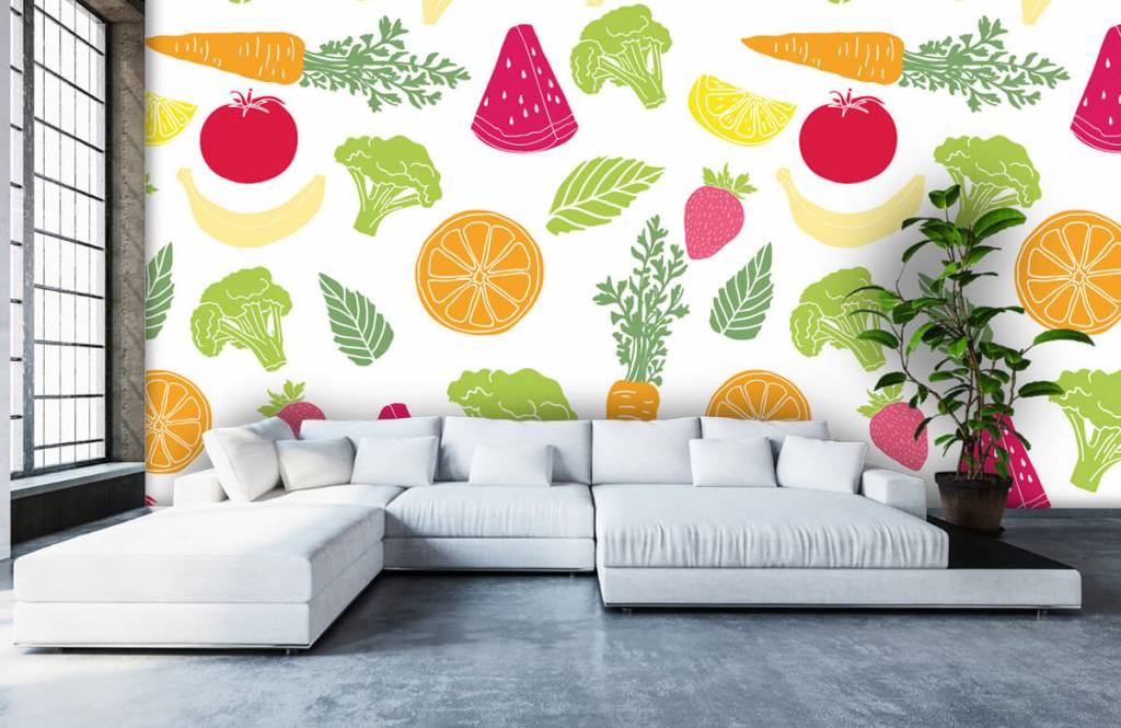 Övriga Getekend groente en fruit 4