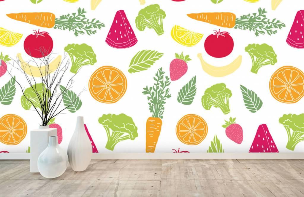 Övriga Getekend groente en fruit 6