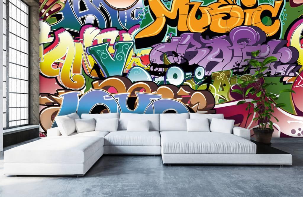 Graffiti Signerad graffiti 1