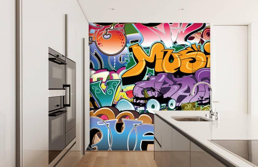 Graffiti Signerad graffiti 4