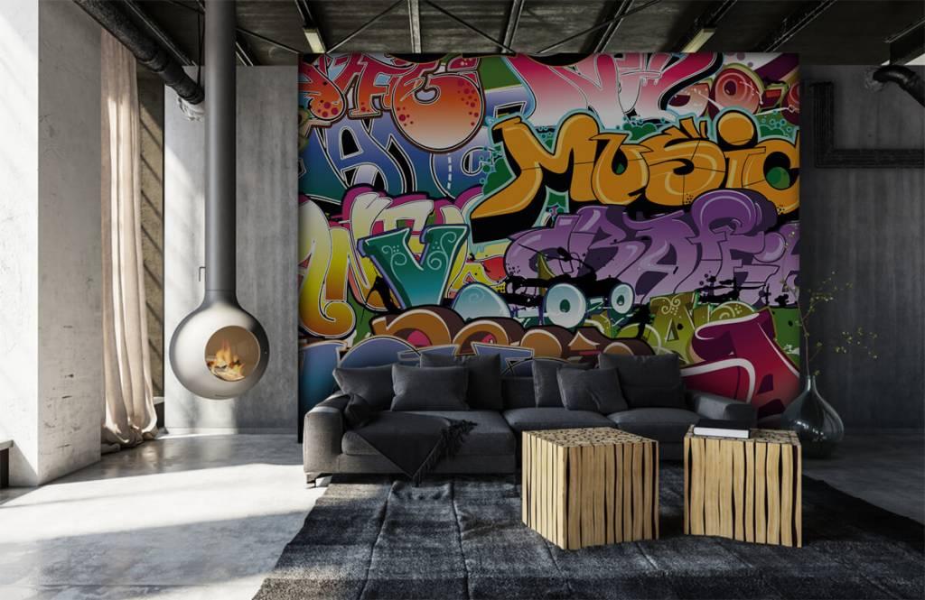 Graffiti Signerad graffiti 6