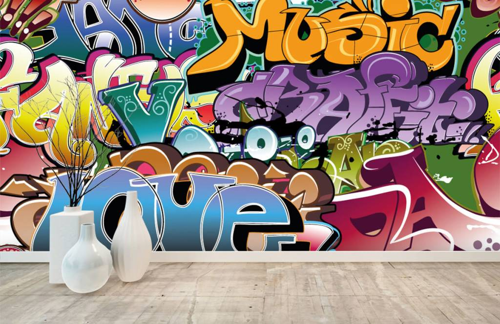 Graffiti Signerad graffiti 8