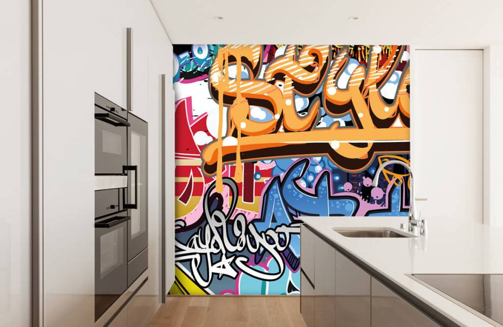 Graffiti Graffiti text 3