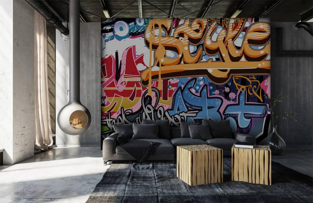 Graffiti Graffiti text 6