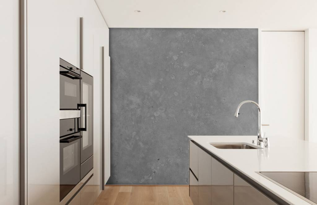 Concrete look tapet Grå betong 4