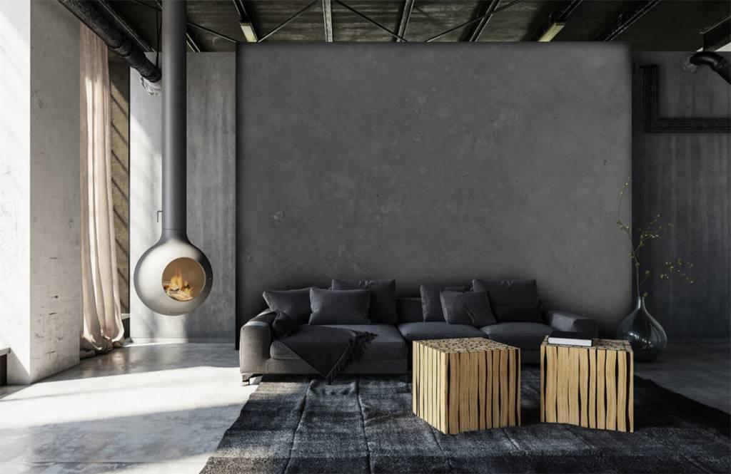 Concrete look tapet Grå betong 6