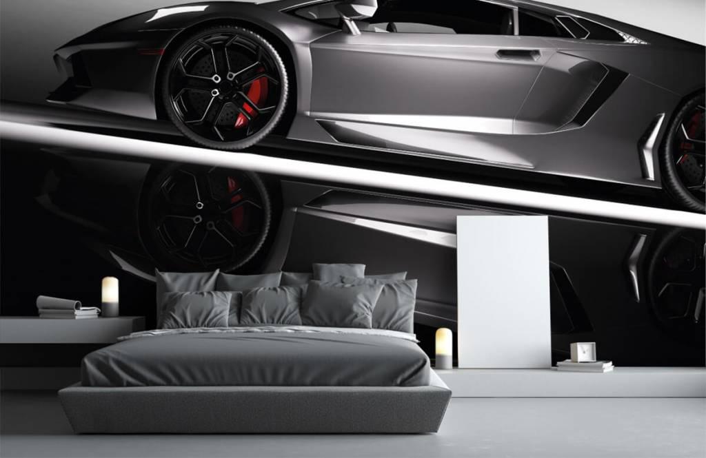 Transport Grå Lamborghini 4