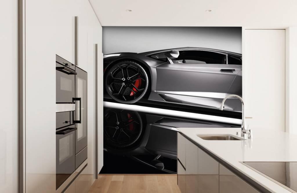 Transport Grå Lamborghini 5