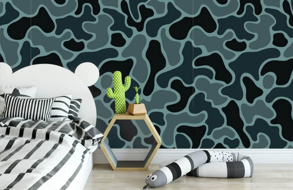Övriga Grön grå kamouflage 3