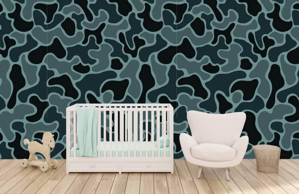 Övriga Grön grå kamouflage 4