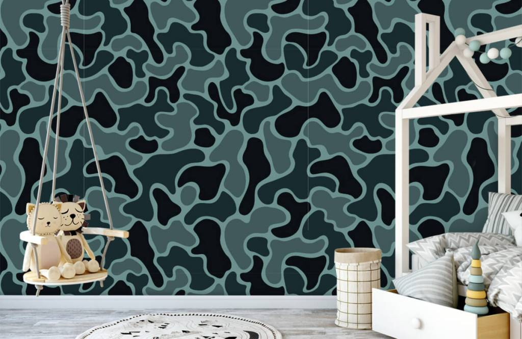 Övriga Grön grå kamouflage 5