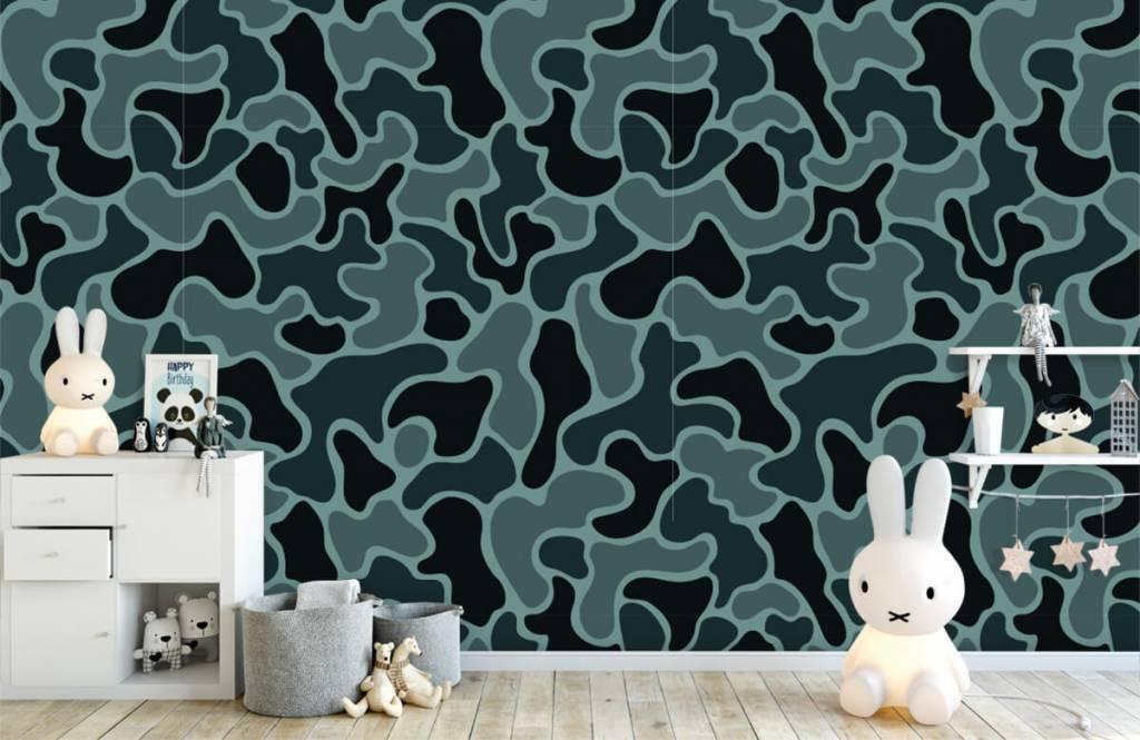 Övriga Grön grå kamouflage 6