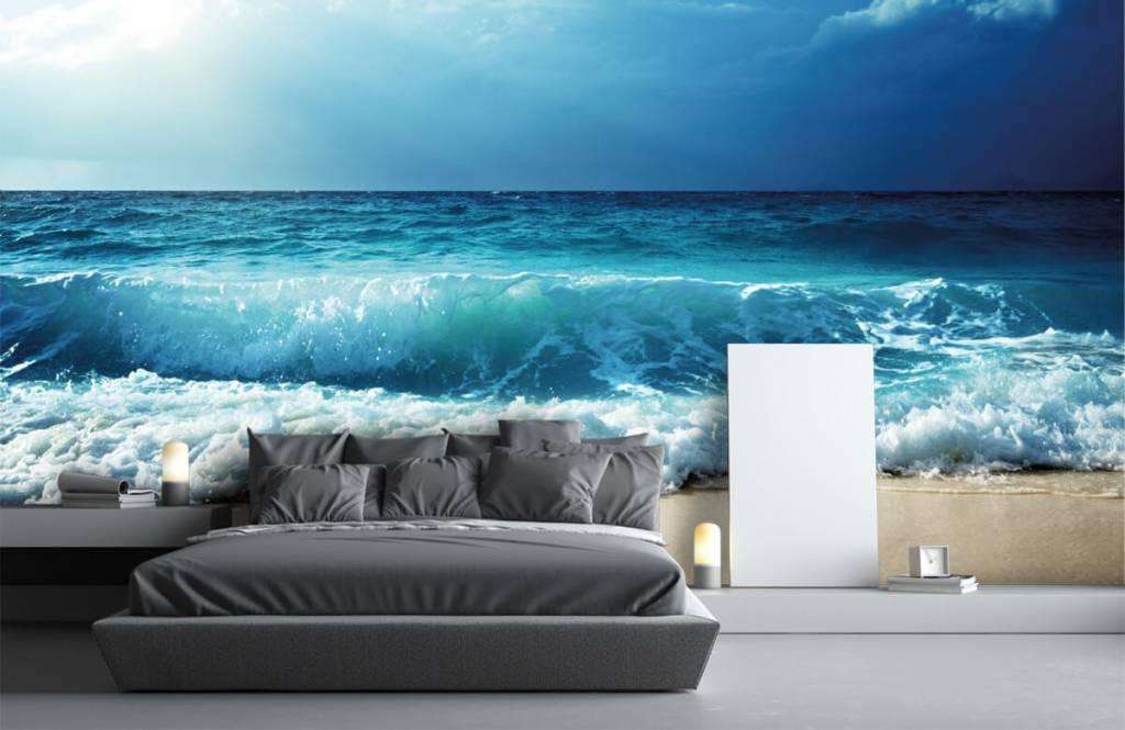 Hav och hav Stora vågor 2