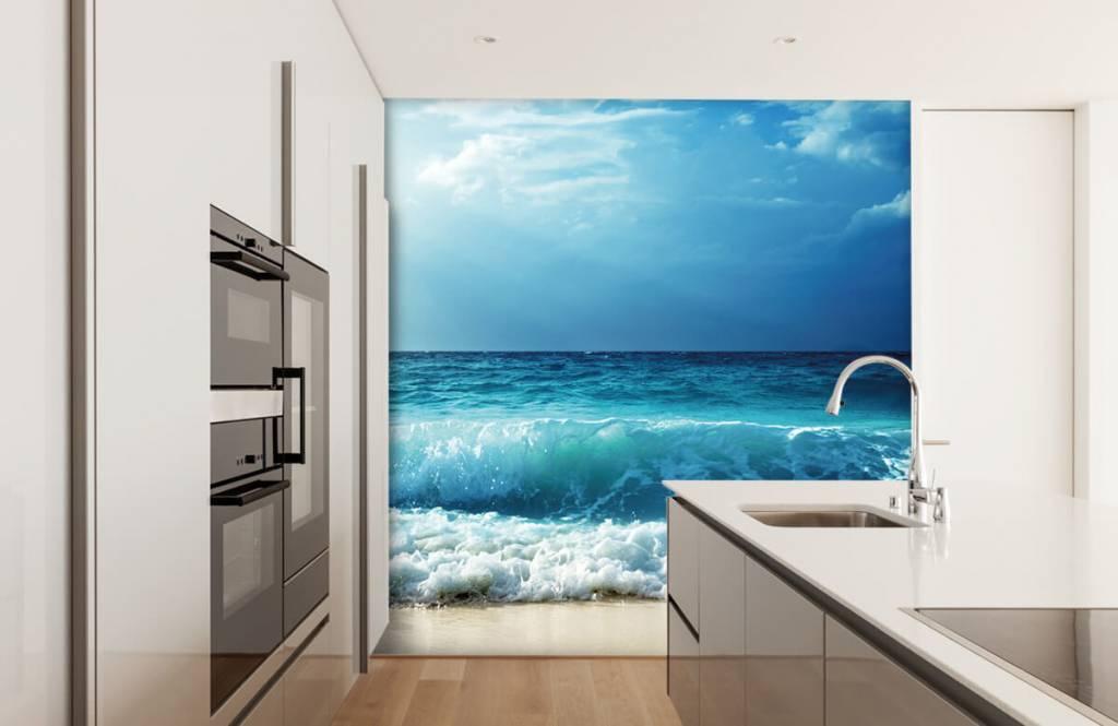 Hav och hav Stora vågor 3