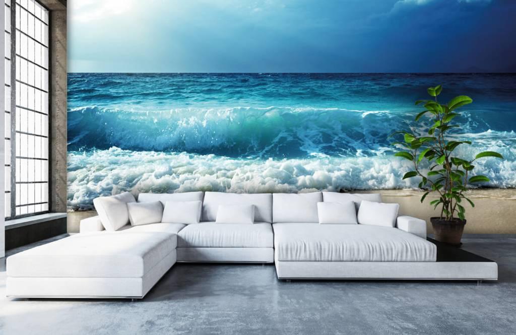 Hav och hav Stora vågor 5