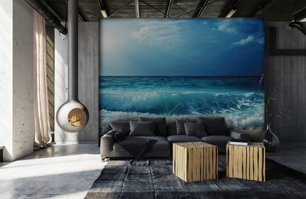Hav och hav Stora vågor 6